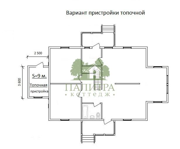 """ДОМ """"ЭДМОНТОН"""" 10.2Х13.2"""