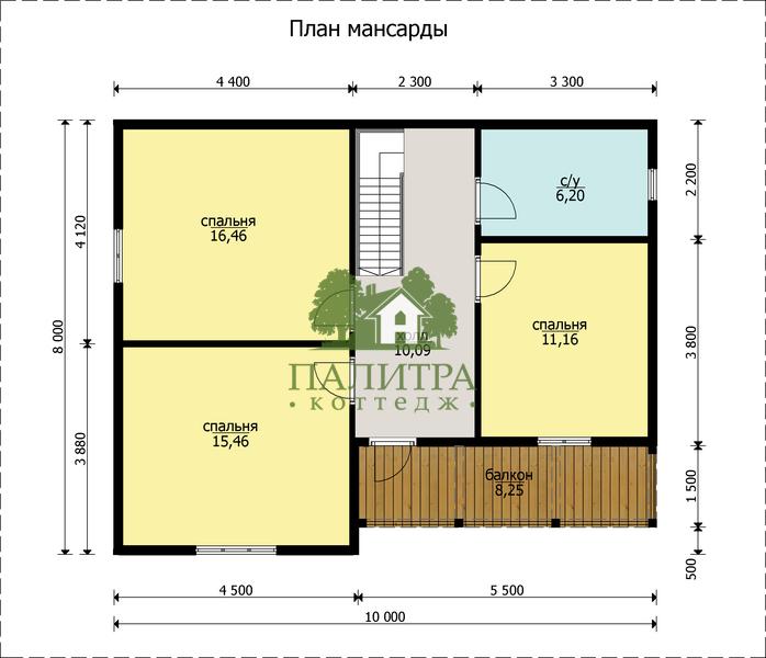 """ДОМ """"БРЮНЕ"""" 8Х10"""