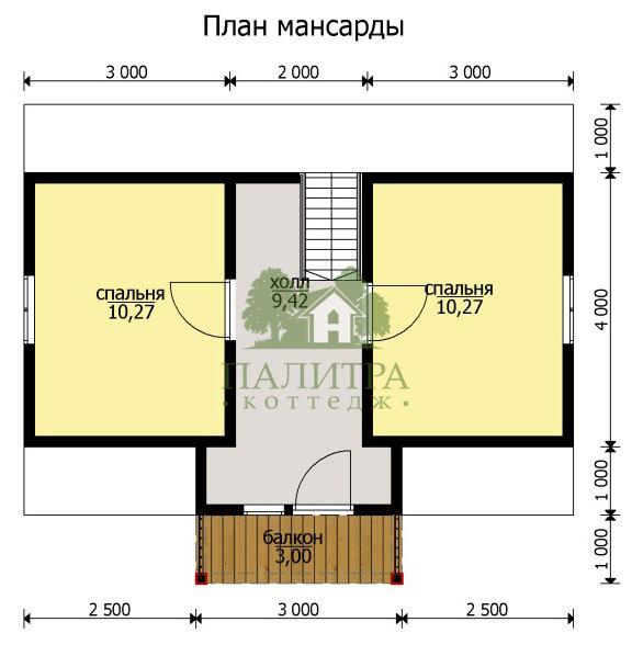"""ДОМ """"РУБЕНС-2"""" 6Х8"""
