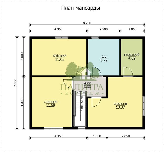 "ДОМ ""ЦИТРИН"" 8.5Х10.2"